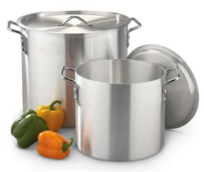 stainless steel cooking pans